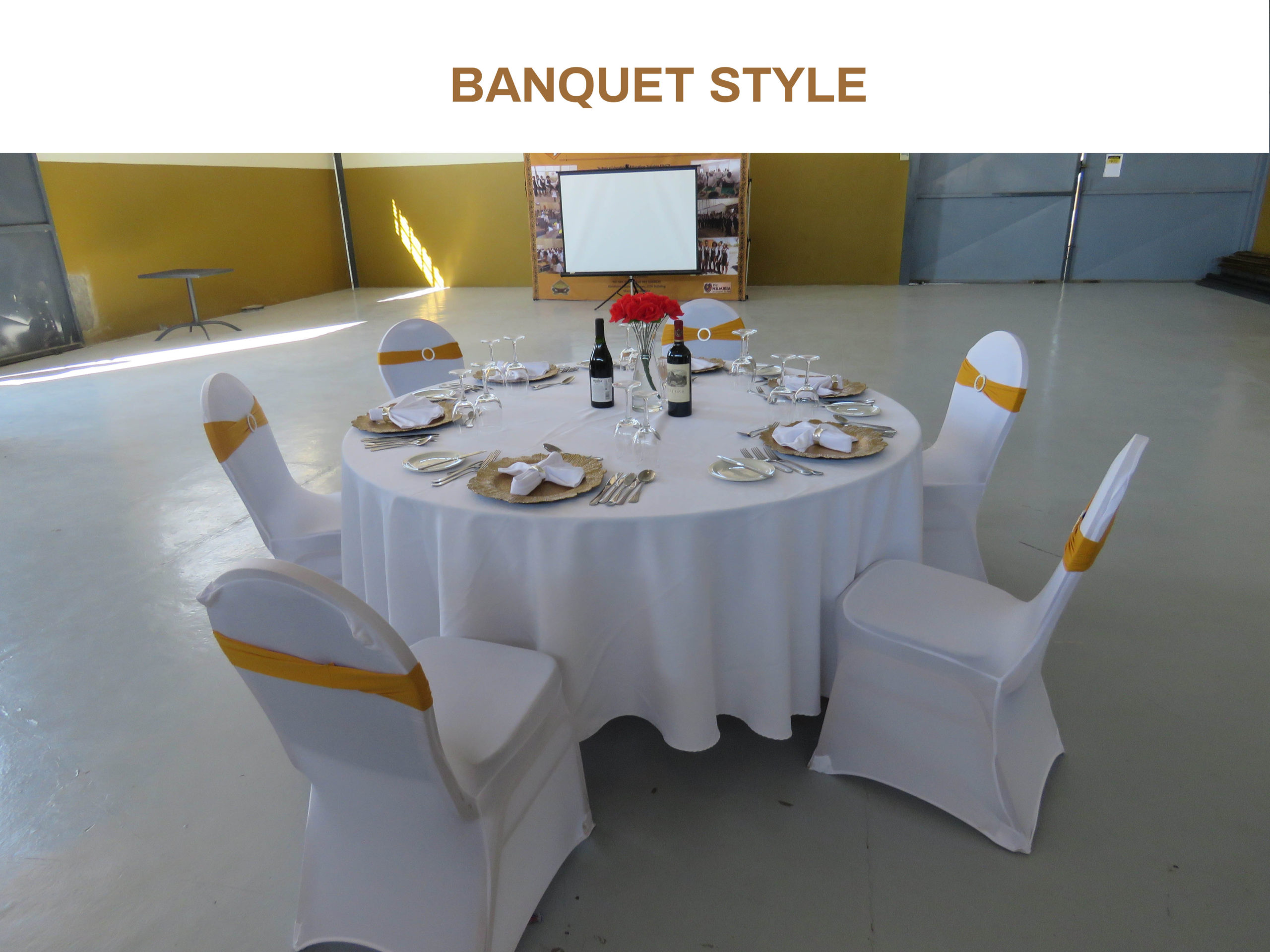 BANQUET STYLE