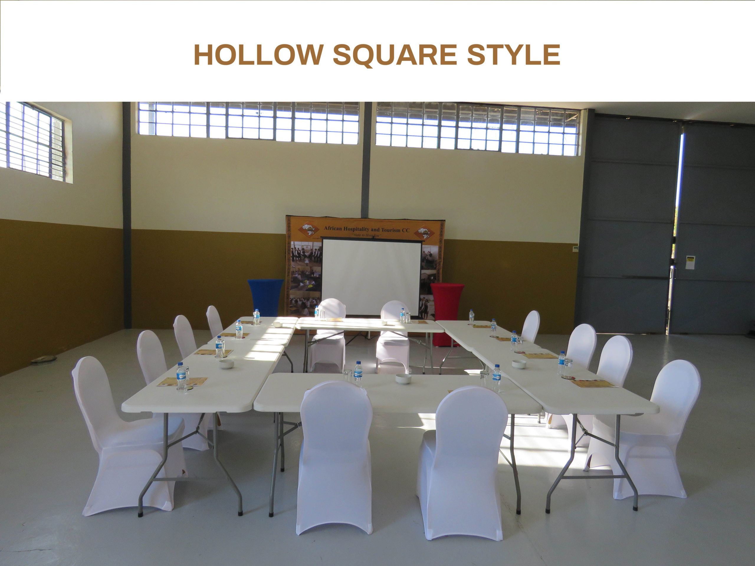 HOLLOW SQUARE STYLE